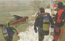 2004 – Fahrzeugbergung am Mondsee