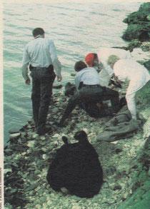 """1999 – Taucheinsatz bei """"schwarzer Brücke"""""""