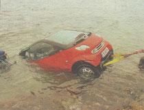 2003 – Fahrzeugbergung am Mondsee