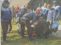 2005 – Taucheinsatz in Weyregg