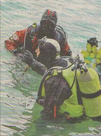 2010 – vermisster Schwimmer in Unterach