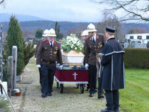 2012 - Begräbnis Walter Holtzleitner